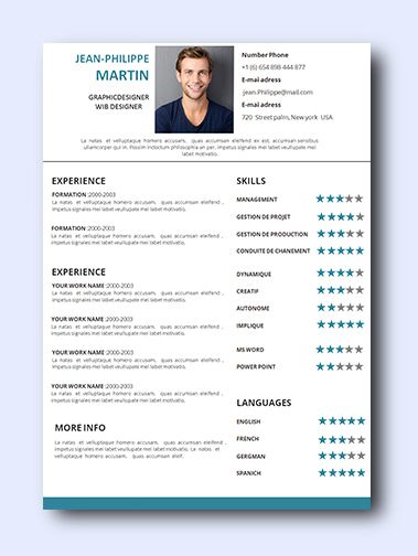 Simply Teal 1 | Even non-creative jobs can benefit from a modern resume as it highlights your creativity, which is a sought-after trait that employers look for and it adds a conservative amount of color and design while remaining professional and clean.