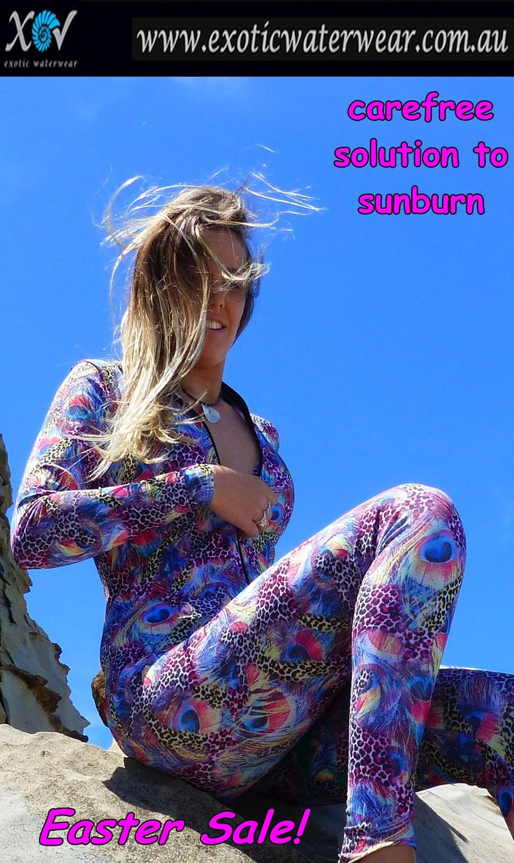 Buy any stingersuit and get a free matching string bikini! Enter code EASTER at checkout! www.exoticwaterwear.com.au