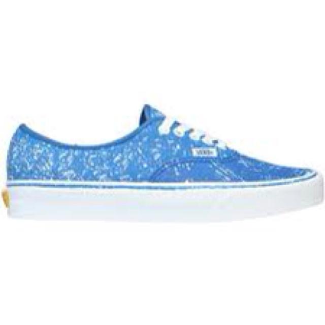 blue sparkly vans for megan