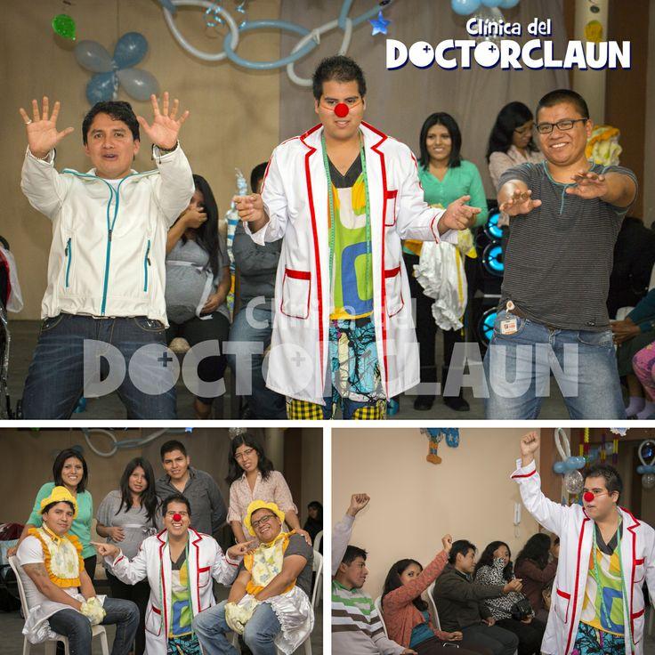 Show baby shower Clown  lima con el Doctor Happy