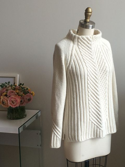 Ravelry: Project Gallery for GEVIR pullover pattern by Sarah Solomon