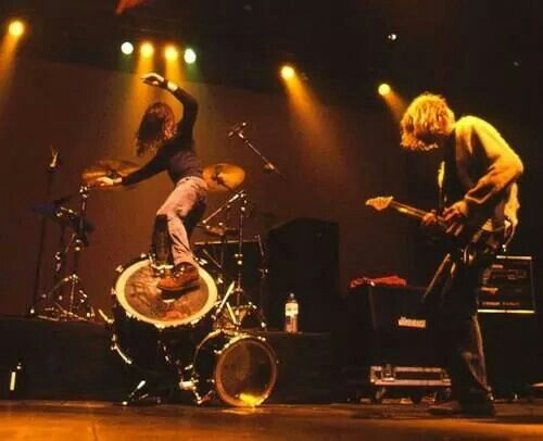 Drum surfing, ever tried that eh?