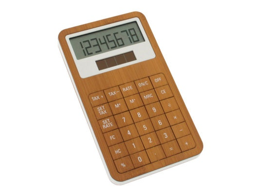 bamboo calculator ++ lexon design