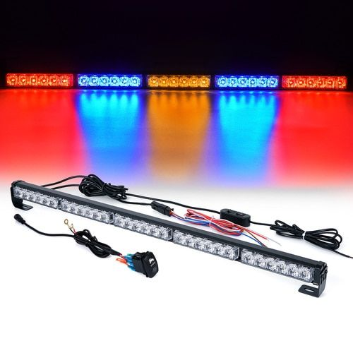 "Xprite RZ Series 30"" Offroad Rear Chase LED Strobe Light bar with Brake Reverse - RBYBR"