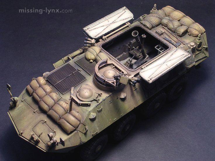 LAV-25 mortar carrier 1/35 Scale Model