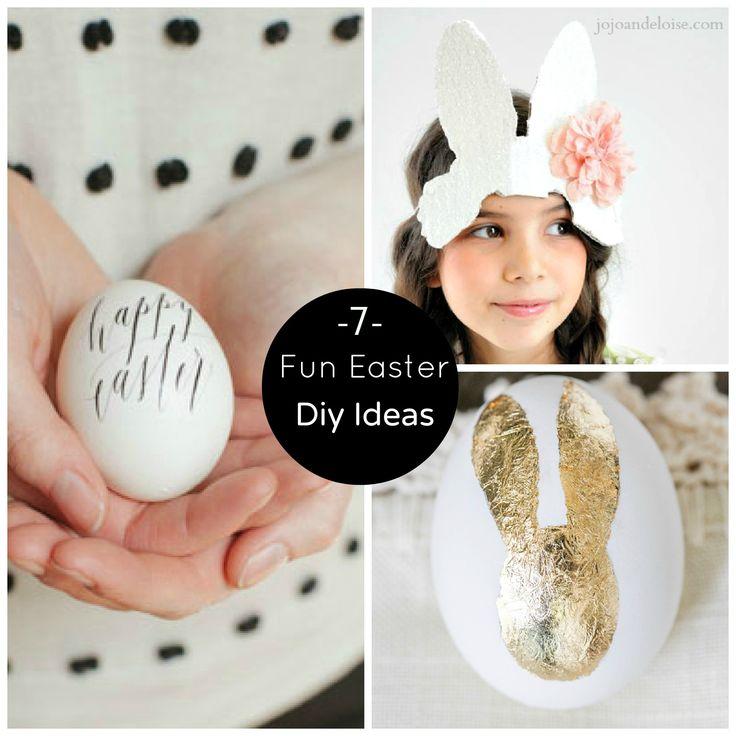 7 Fun #Easter #DIY Ideas