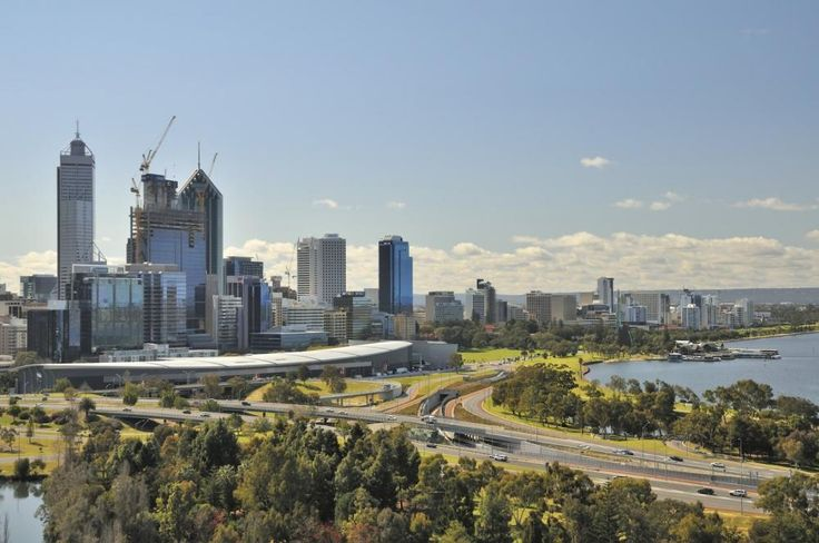 View of Perth City http://commercialelectriciansperth.com.au/