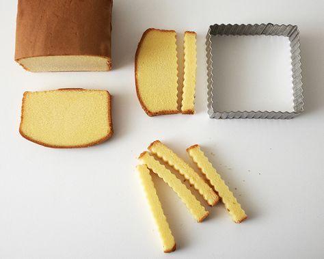 hot dog designed cake instructions | How to Make Mini Hot Dog Cakes and Fries | Cakegirls