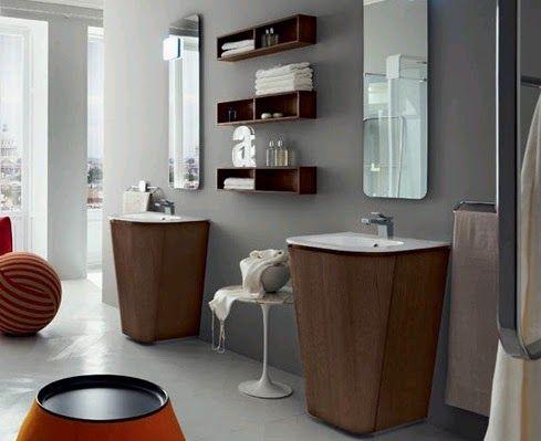 160 best bonitos consejos para la decoraci n de ba os for Guardas para banos modernos