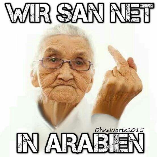WIR SAN NET IN ARABIEN