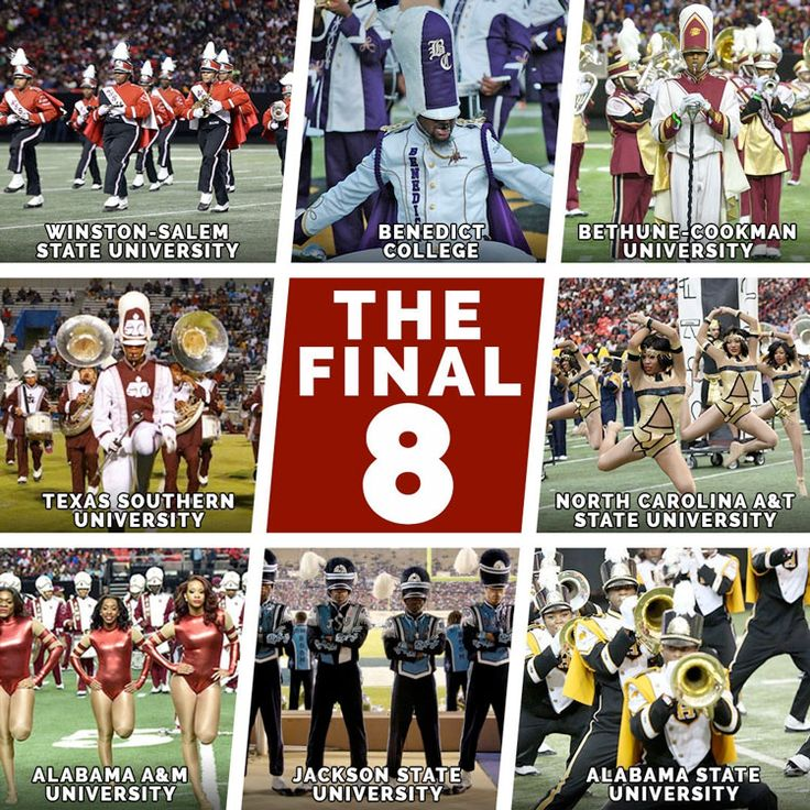 Eight HBCU marching bands will perform at the 15th annual Honda Battle of the Bands Invitational Showcase in Atlanta on January 28, 2017.
