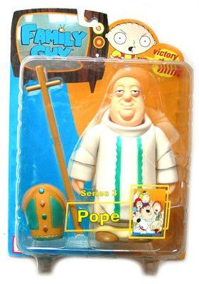 Family Guy Pope Series 3 Action Figure by Mezco Toyz New in Package Fox TV Show