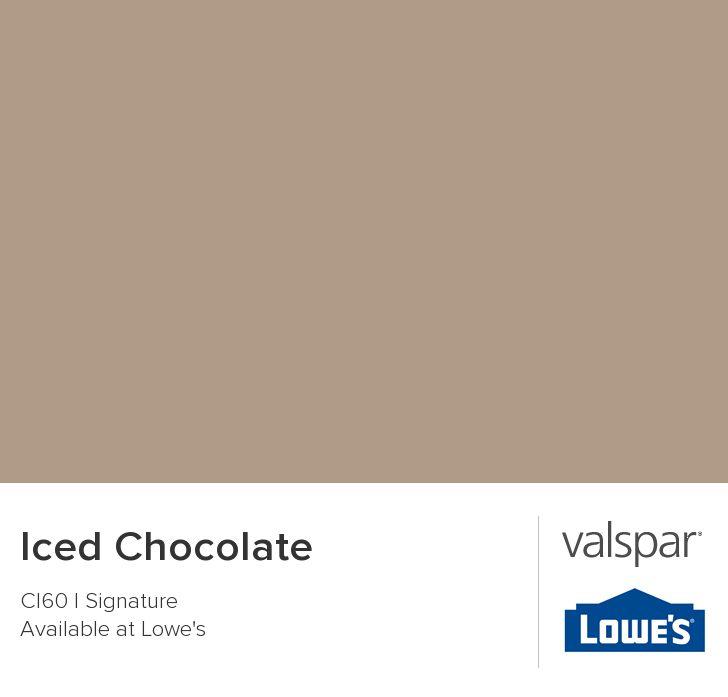 Iced Chocolate from Valspar