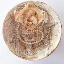 joan martin, charm, mixed media assemblage, 15cm diameter .jpg