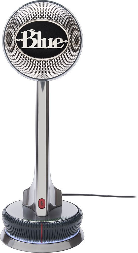 Blue Microphones - Nessie Adaptive USB Microphone - Silver