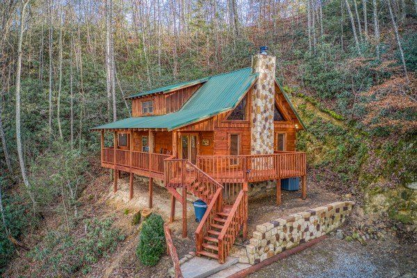 Moonshiner S Ridge Deluxe 1 Bedroom Pigeon Forge Cabin Rental Pigeon Forge Cabin Rentals Cabin Pigeon Forge Cabins