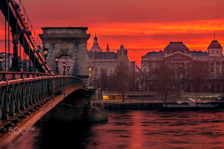 Burning sky - Burning sky on March 5th, 2016 over Budapest, Hungary. Further pictures here: https://www.facebook.com/mark.mervai.photography/  Share if you like it and visit my page :)