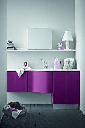 17 migliori idee su lavanderia in bagno su pinterest - Creare un bagno in poco spazio ...