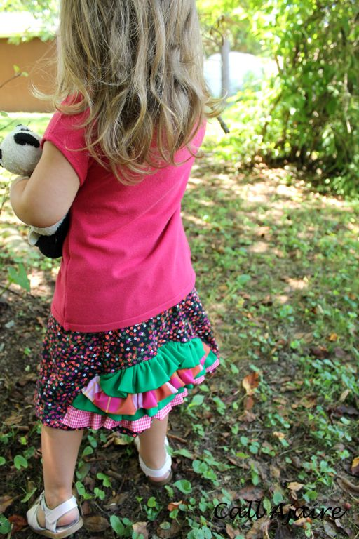 (9) Name: 'Sewing : Ruffled Arch Skirt Size 3T