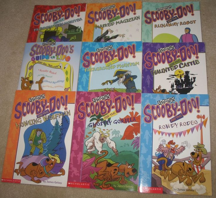 Scooby-Doo Chapter Book Lot of Scholastic Readers Level RL2 Guide to Life RL4. Found on eBay. #ck1 $24.95 including shipping in Canada and the US.