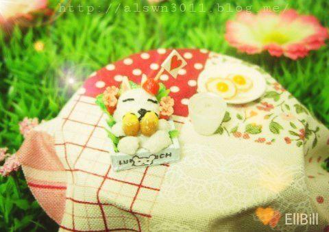 ●EllBill Miniature_Character lunch box ●Creator: EllBill (KimMinju) ●blog: alswn3011.blog.me/ ●E-mail: alswn3011@naver.com