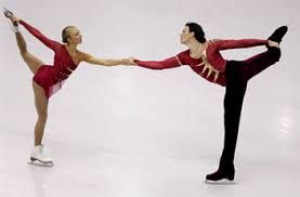 These 2 were so inspirational to me.  After a horrific fall, where Tatiana ended up in a coma, they returned to the ice and won Gold at the 2006 Olympics.  He knelt down on the ice in front of her!  Tatiana Totmianina & Maxim Marinin.