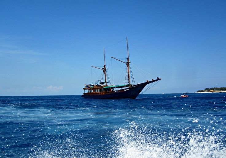 Bateau à Gili Air - Blog Voyage Trace Ta Route www.trace-ta-route.com http://www.trace-ta-route.com/escapade-bali/ #tracetaroute #gili #bali #indonesie #indonesia #bateau #boat