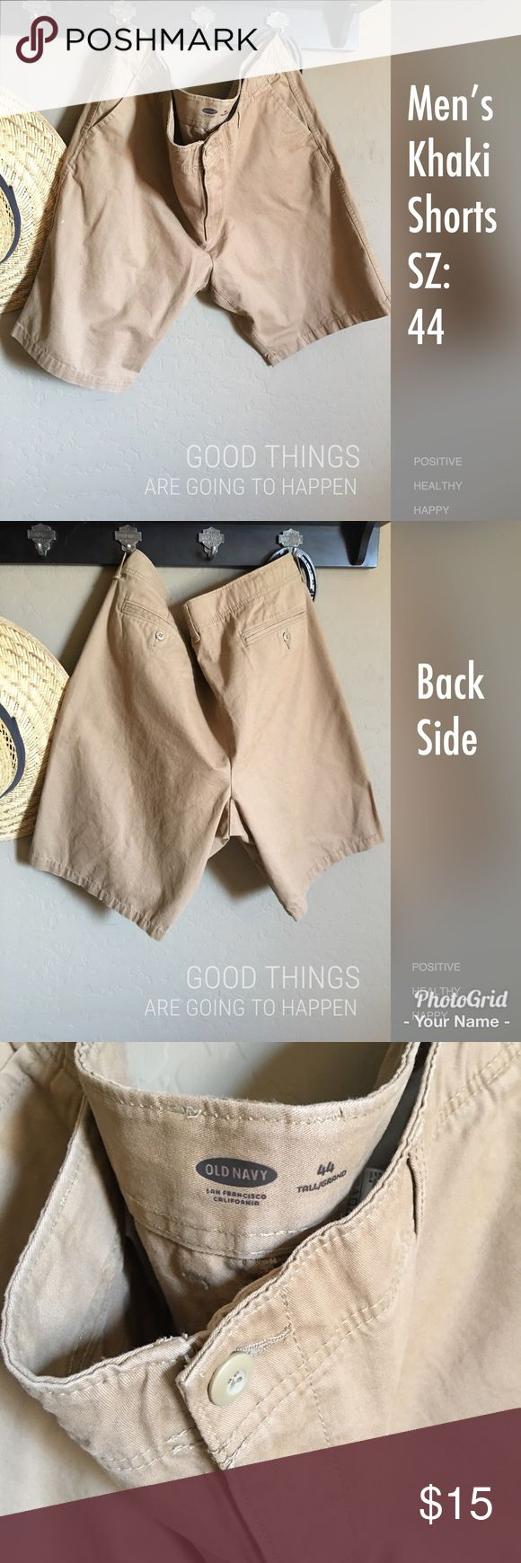 Men's Khaki Shorts Great condition used item. Men's Kahlo shorts from Old Navy size 44. (Big and Tall) Old Navy Shorts