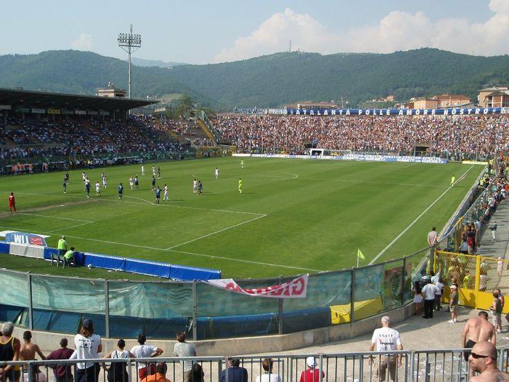 Atleti Azzurri d'Italia- Atalanta. Capacity: 26,542.