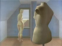 alex colville - nude and dummy
