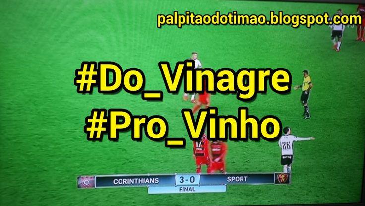 Brasileirão 2016 - 23ª rodada - CORINTHIANS 3 x 0 Sport - PALPITÃO DO TIMÃO