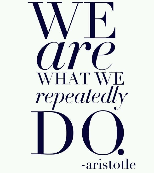 Aristotle...
