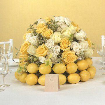 Table Centerpiece Ideas Fruit Bouquets