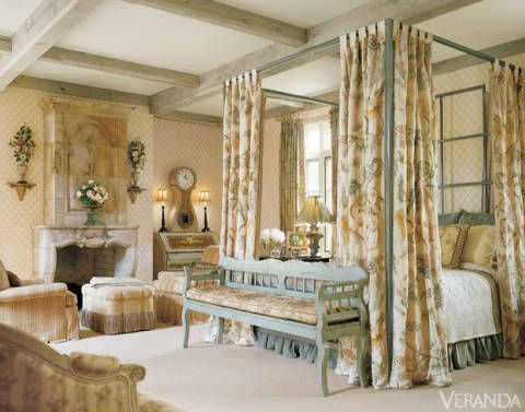 20 beautiful bedrooms that are the epitome of for Charles faudree antiques and interior designs