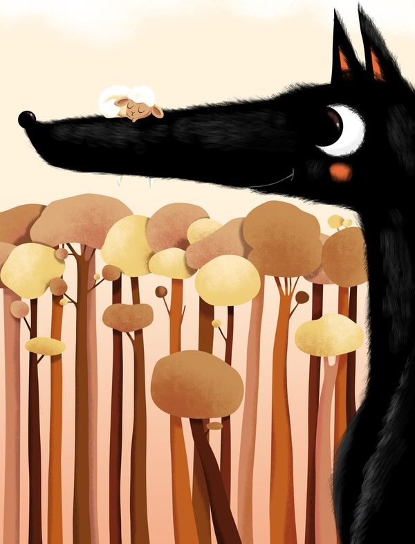Loup Lucie Brunelliere,