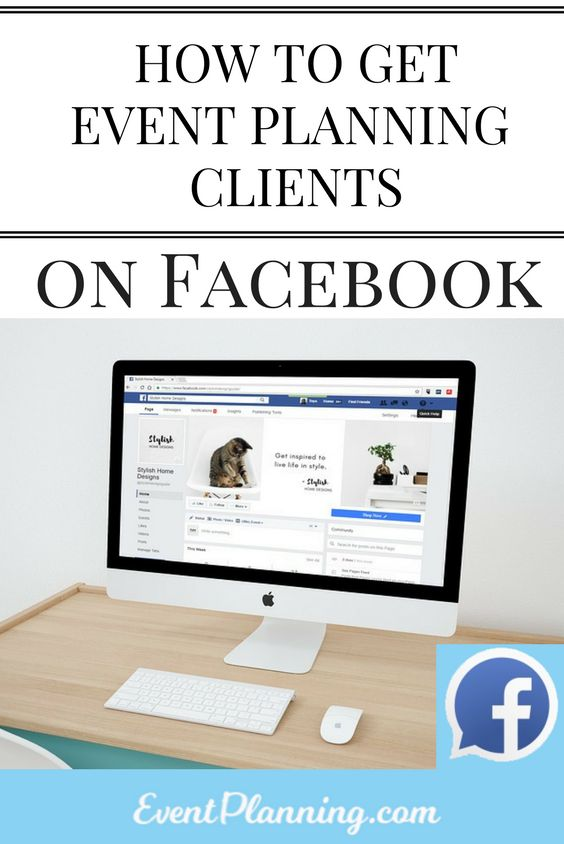 Facebook is one of the most effective social media platforms to market your event planning business.  Getting clients on Facebook is simple if you do...
