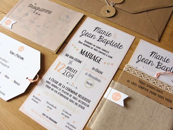 faire-part-kraft-retro-dentelle-5 http://save-the-date.fr/faire-part-sur-mesure-retro-graphique/