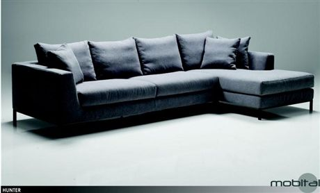 Hunter Lsf Chaise Sectional Mobital Contemporary