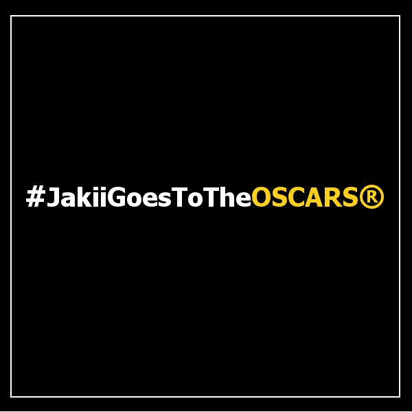#JakiiGoesToTheOSCARS®  We're beyond excited! :) Thank you so much to SwagGivesBack for making our red carpet dream come true. :)