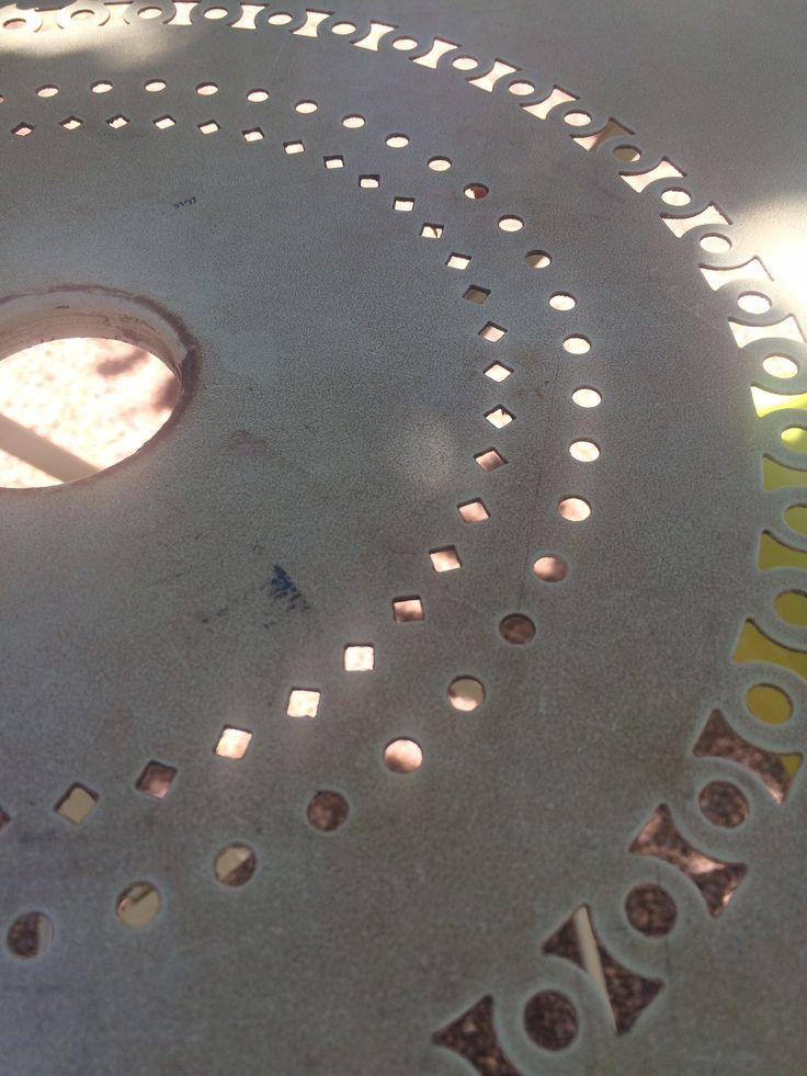 Al fresco table