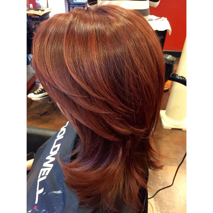 colorcut blow dry 6rb root goldwell topchic 6rb ends redken shades - Coloration Redken Nuancier