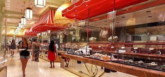 The Buffet at the Wynn in Las Vegas