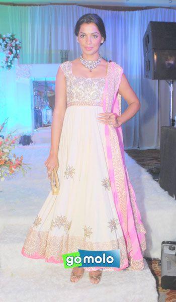 Mugdha Godse at Designer Manali Jagtap's engagement in Mumbai