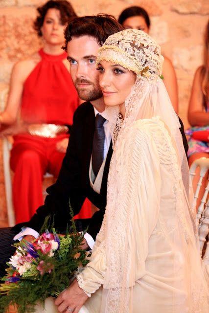 Confesiones de una boda: Boda Espía: una novia con un auténtico vestido vintage