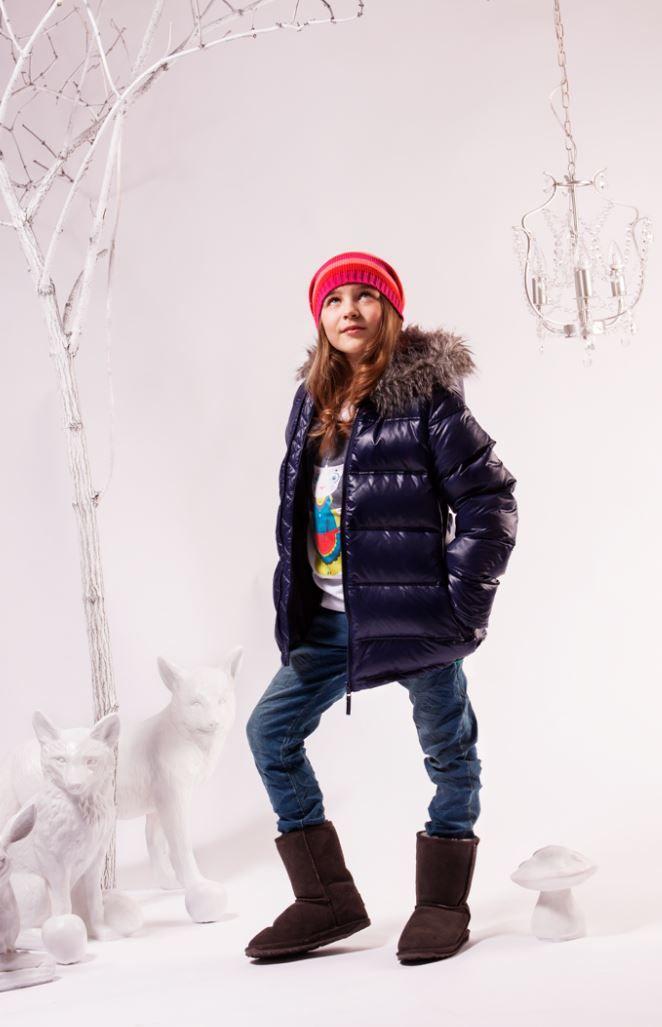 Kurtka zimowa #dla_dziewczynki, Besta Plus
