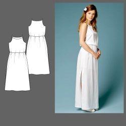 Kleid, Gr. 32