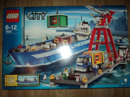 Lego City Harbour 7994 New SEALED
