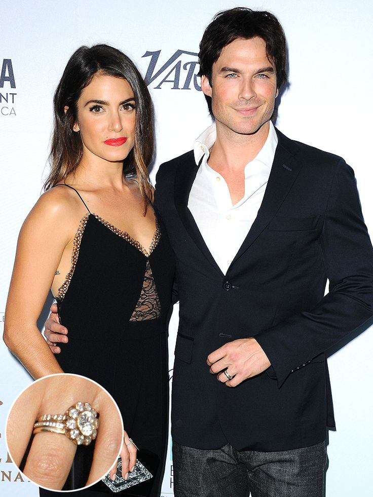 NIKKI REED Nikki Told PEOPLE About Her Floral Style Engagement Ring From Ian Somerhalder