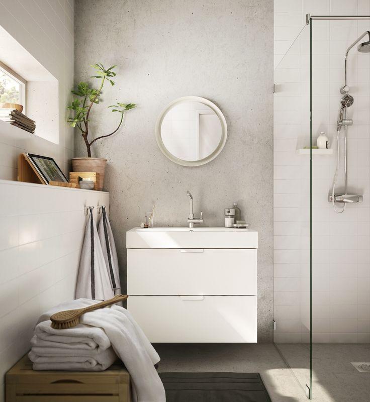 Ikea bathroom sink cabinet combo under Powder