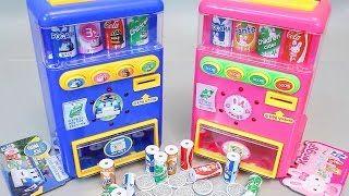 Robocar Poli Drink Vending Machine Ice Cream Play Doh Toy Surprise Eggs Toys - YouTube